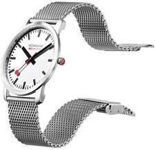 Orologio Mondaine simply  news sottilissimo! design unico..cinturino cromo