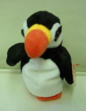 #3456 NWT TY 1997 Puffer the Puffin Bird Bean Bag Plush DOB 11-3-97