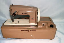 Vintage Singer Sew Handy Electric Sewing Machine Miniature Child Size