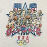 Vintage 1992 USA Basketball Caricature Reprint White T-Shirt GILDAN REPRINT