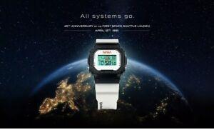 Casio G-Shock DW5600NASA21 NASA Limited Edition 2021 **PREORDER CONFIRMED**