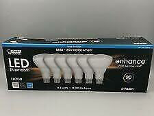 Daylight FEIT Electric LED BR30 Flood 6 pack