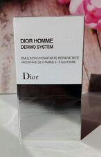 DIOR HOMME DERMO SYSTEM EMULSION HYDRATANTE REPARATRICE VISO50ml UOMO NUOVA ORIG