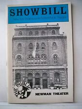 ORGASMO ADULTO ESCAPES FROM THE ZOO Playbill ESTELLE PARSONS NYC 1983