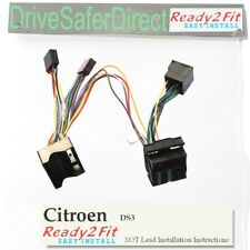 ISO-SOT-6000-y Lead,cable,adaptor for Parrot CK3100 Citroen DS3 10-