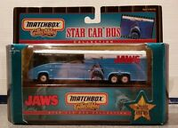 JAWS BUS * MATCHBOX STAR CAR ~ Mint in Near Mint Box