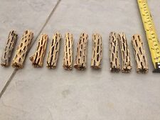 "ORGANIC CHOLLA WOOD 5pcs 3"" PLECO FISH HERMIT CRAB *CRAFTS* CLEANED AND TREATED1"