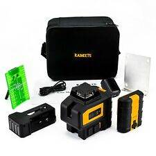 Kaiweets Kt360b Green Laser Level With 2 Plumb Dots Amp Magnetic Rotating Stand