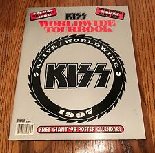 KISS ORIGINAL WORLD WIDE TOUR BOOK ALIVE WORLD WIDE ~ 1997  LOADED WITH PHOTOS!