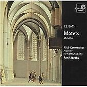 BACH J.S.-Motets  CD NEW