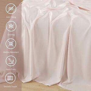 PANDATEX Super Soft 100% Bamboo Flat Sheet, Queen