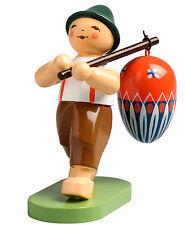 Wendt & Kühn ragazzo con uovo al bastone 5240/2 VERDE Hainichen Erzgebirge novità 2016