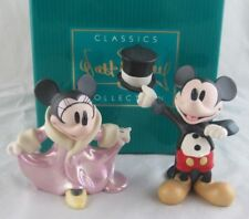 """WDCC """"Top Hat and Tails"""" """"All Dolled Up"""" Mickey and Minnie Gala Premier Box COA"""