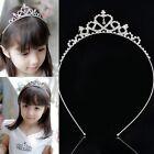 Kid Rhinestone Crystal Tiara Hair Hoop Girl Bridal Princess Prom Crown Headband