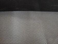 fabric net each sale sold per  50cm x 140cm black