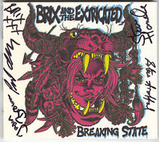 Brix & The Extricated ‎- Breaking State - CD, New, SIGNED by Band, ex- The Fall