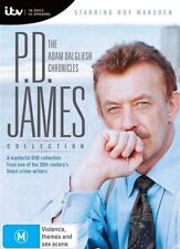 The P.D. James - Adam Dalgliesh Chronicales (DVD, 2018, 16-Disc Set) SEALED NEW