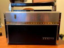 Zenith Trans-Oceanic Royal 1000D Shortwave/Am Radio Wave-Magnet