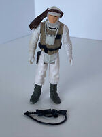 🔥1980 Star Wars Vintage ESB🔥LUKE SKYWALKER HOTH Figure Hong Kong 💯 COMPLETE!