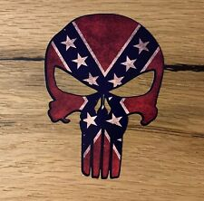 PUNISHER Aufkleber Sticker V8 Vintage Rocker Tuning Skull Biker USA Hot Rod M391