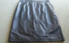 """Alannah Hill """"l might shoot him skirt"""". Sz 14. Can fit 12. Leather skirt."""