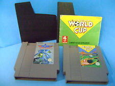 NINTENDO GIOCHI TOP GUN /WORLD CUP CALCIO