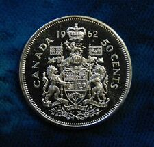 CANADA 1962 50 cents silver half dollar fifty cent piece GEM PL proof like