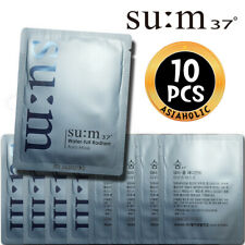 SU:M37 Water-full Radiant Aura Mask 2ml x 10pcs (20ml) Sample Sum37 Newist Ver