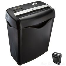 Heavy-Duty Cross Cut Paper Credit Card Shredder Document Destroy Machine Office