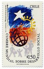Chile 1995 #1701 Cumbre Mundial sobre Desarrollo Social MNH