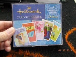 Hallmark Card Studio Deluxe 2008 5 CD Set for Windows XP or Vista