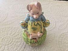 Schmid Beatrix Potter Aunt Pettitoes Music Box