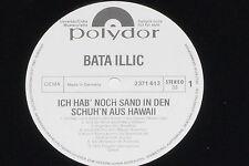 BATA ILLIC -Ich hab' noch Sand in den...- LP 1975 Polydor Promo Archiv-Copy mint