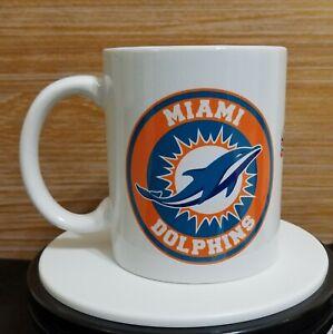 MIAMI DOLPHINS  coffee  tea mug taza jarro souvenir  11oz football