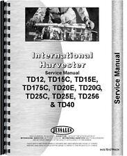 International Harvester Td12 Crawler Track Only Service Manual