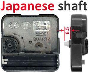 Quartz clock movement, Sangtai 5168S snap-in push-fit no thread, sweep silent UK