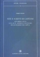 ENRICO NUZZO VITE E SCRITTI DI CAPITANI ATTORNO ALLA VITA DI ANDREA D. CANTELMO