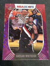 2020-21 Panini NBA Hoops Hassan Whiteside Purple Explosion Base #187