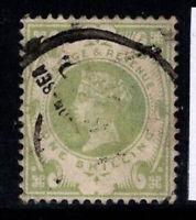 Großbritannien 1887 Mi. 97 Gestempelt 100% 1 SH, Königin Victoria
