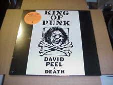 LP:  DAVID PEEL & DEATH - King Of Punk  NEW SEALED LOWER EAST SIDE