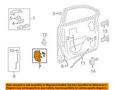 Gm Oem Front Door Lock Actuator Motor 22785492