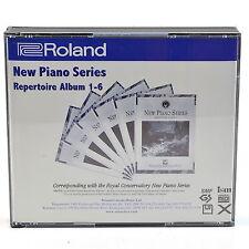 Roland RCM-1998A-SMF 2 Disc Royal Convervatory New Piano Series MIDI Albums 1-6