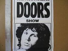 Australian Doors Concert Poster Jim Morrison Vintage Sound Factory Australia