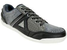 GUESS Men's Javonte Low Top Sneakers Black/Dark Grey Size 13 M