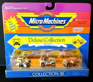 Micro Machines Deluxe Collection XI - Galoob (1989) UNOPENED