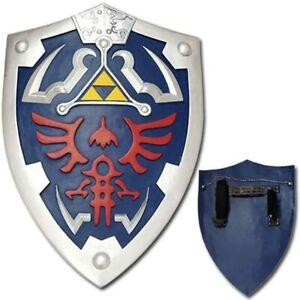 Fantasy Full Size Link Hylian Zelda Shield with Grip & Handle