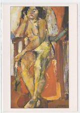 CP TABLEAU FRANçOIS DESNOYER Femme nue