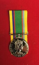 "Official Cadet Forces Medal Fullsize Copy Replica Superb Quality With 10""ribbon"
