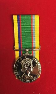 """Cadet Forces Medal Fullsize Copy Replica Superb Quality With 10""""ribbon"""