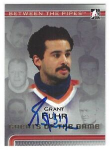 Grant Fuhr Signed 2006/07 Between The Pipes Card #92 Edmonton Oilers